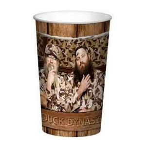 Duck Dynasty Brown Plastic 22 Ounce Reusable Cup